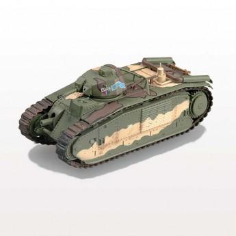 Модель танка B1 бис (1:72)