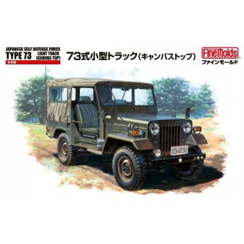 Модель автомобиля JGSDF Type 73 Light Truck w/Canvas Top (1:35)