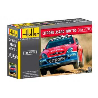 Модель автомобиля Ситроен XSARA WRC 05 (1:43)