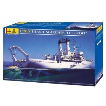 """Модель корабля  """"Le Suroit"""" (1:200)"""