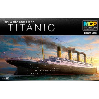 "Лайнер  Titanic ""The White Star Liner"" (1:400)"