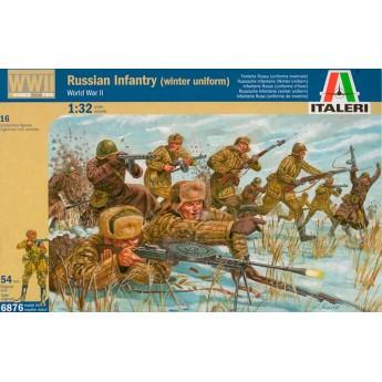 Солдаты  WWII RUSSIAN INFANTRY (WINTER UNIFORMS) (1:32)