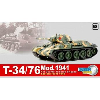 Модель танка Т-34/76, восточный фронт, 1942 г. (1:72)