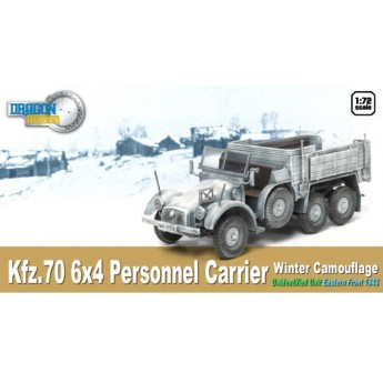 Модель автомобиля  Kfz.70 6X4 PERSONNEL CARRIER (1:72)