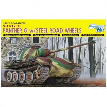Радиоуправляемый танк Heng Long German Panter Type G масштаб 1:16 40Mhz - 3879