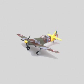 Модель самолета Девуатин D.520