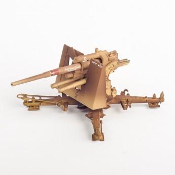 Модель зенитного орудия 8,8cm Flak18 - 19.Flak.Div., El Alamein 1942
