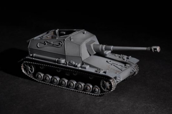 Модель танка масштабом 1/72