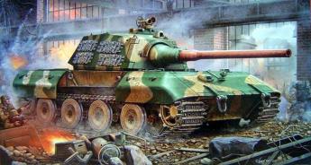 Модель танка Е 100 для сборки