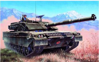Модель боевого танка 1/35