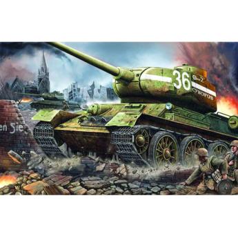 Модель такнка Т-34 1 к 16