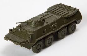 Модель БТР-80А для сборки