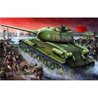 Trumpeter 00904 Сборная модель танка Т-34-85 мод 1944 г завода №174 (1:16)