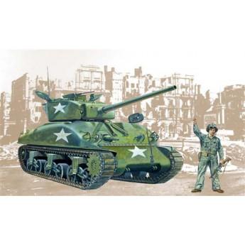Модель танка M4 A1 SHERMAN (1:35)