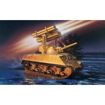 Модель танка M4A3 SHERMAN CALLIOPE (1:35)