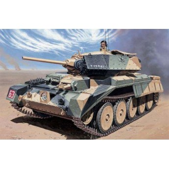Модель танка Crusader Mk.I (1:35)