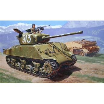 "ITALERI 6483 Сборная модель танка M4A2 76mm ""WET"" Шерман (1:35)"