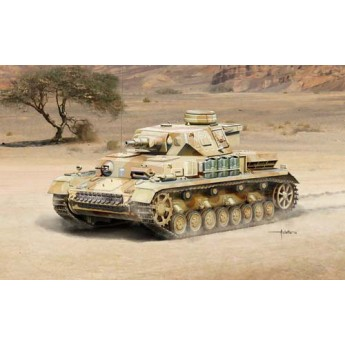 Модель танка Pz. Kpfw. IV Ausf. F1/F2 Sd. Kfz. 161 (1:35)