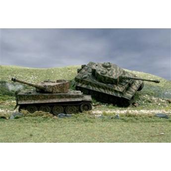 Модель танка Pz.Kpfw.VI TIGER I (2 FAST ASSEMBLY MODELS) (1:72)