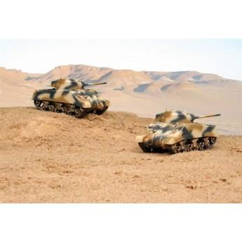 Модель танка M4A2 Шерман III (2 быстросборные модели) (1:72)