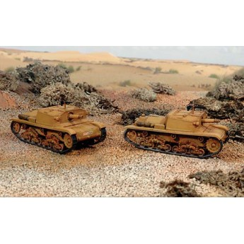 Модель САУ SEMOVENTE M40 da 75/18 (1:72)