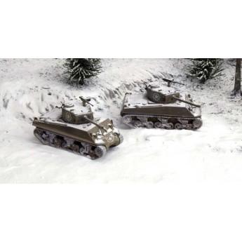 Модель танка M4A3 76mm (1:72)