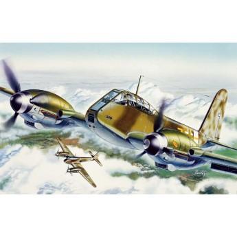 """Модель самолета ME 410 """"HORNISSE"""" (1:72)"""
