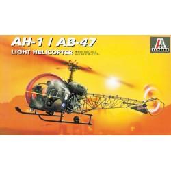 Модель вертолета AH-1/AB-47 (1:72)