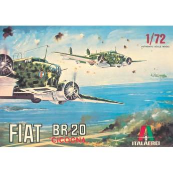 """ITALERI 0103 Сборная модель самолета BR.20 """"CICOGNA"""" (1:72)"""