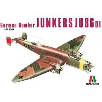 Модель самолета JU 86 D (1:72)
