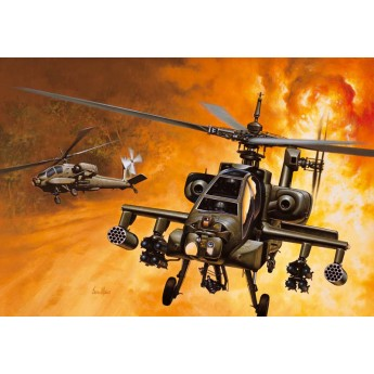 ITALERI 0159 Сборная модель вертолета AH-64A APACHE (1:72)