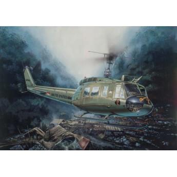 """Модель вертолета UH-1D """"SLICK"""" (1:48)"""
