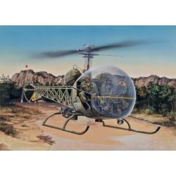 Модель вертолета BELL OH-13S SIOUX (1:48)