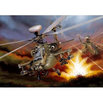 Модель вертолета AH-64 D APACHE LONGBOW (1:48)