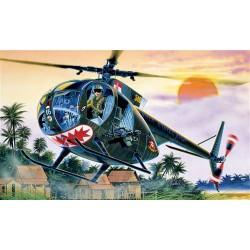 Модель вертолета OH-6 A CAYUSE (1:48)
