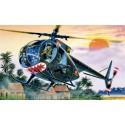 ITALERI 1028 Сборная модель вертолета OH-6 A CAYUSE (1:72)