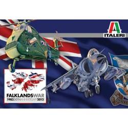 Модель вертолета WESSEX UH.5 & SEA HARRIER FRS.1 Falkland (1:72)