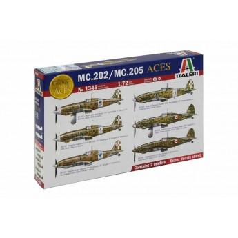 Модель самолета ITALIAN ACES MC.202/ MC.205 (1:72)
