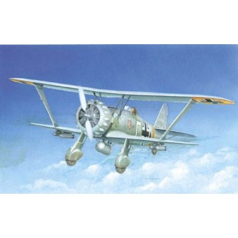 ITALERI 2632 Сборная модель самолета Hs-123 A-1 (1:48)