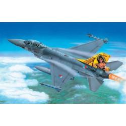 Модель самолета F-16 A Fighting Falcon (1:48)