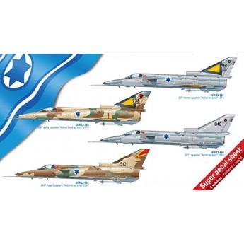 Модель самолета Kfir C1/C2 (1:48)