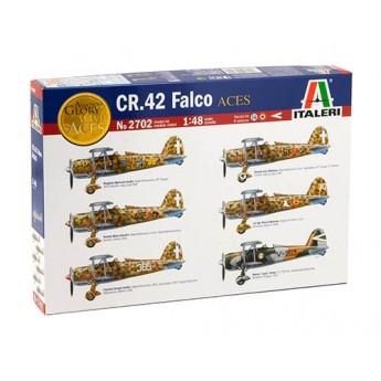 """ITALERI 2702 Сборная модель самолета CR.42 FALCO """"ACES"""" (1:48)"""