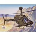 ITALERI 2704 Сборная модель вертолета OH-58D KIOWA (1:48)