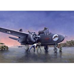 Модель самолета P-70A (1:48)