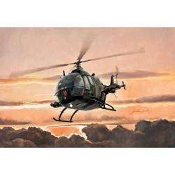 Модель вертолета BO 105 (1:48)