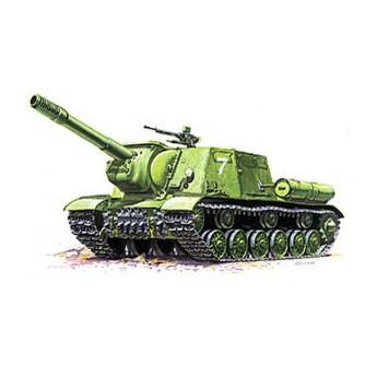 Модель САУ ИСУ-152 (1:35)