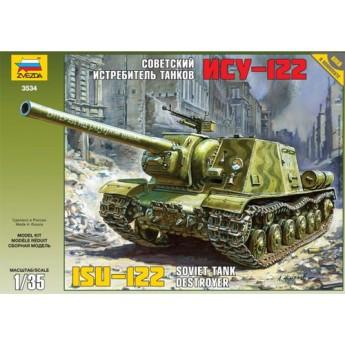 """Модель САУ """"ИСУ-122"""" (1:35)"""