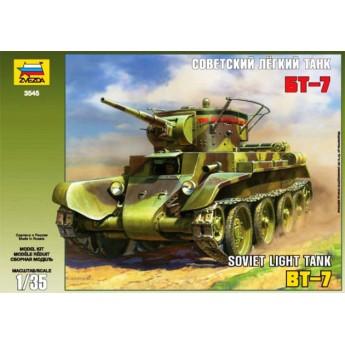 Модель танка БТ-7 (1:35)