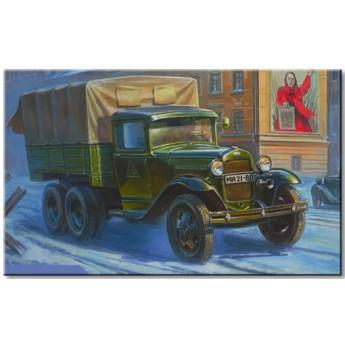 Модель грузовика ГАЗ-ААА (1:35)