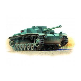"""Модель немецкого танка """"Штурмгешутц III F"""" (1:35)"""